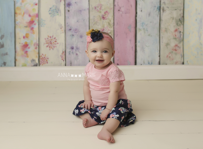 Kansas City Baby Photographer Olivia 8 Months Anna Marie
