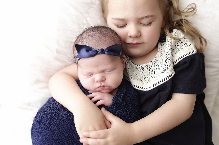 Baby & sister